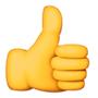 """""""Daumen hoch""""-Emoji"""
